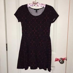 Forever 21 short sleeved skater dress!